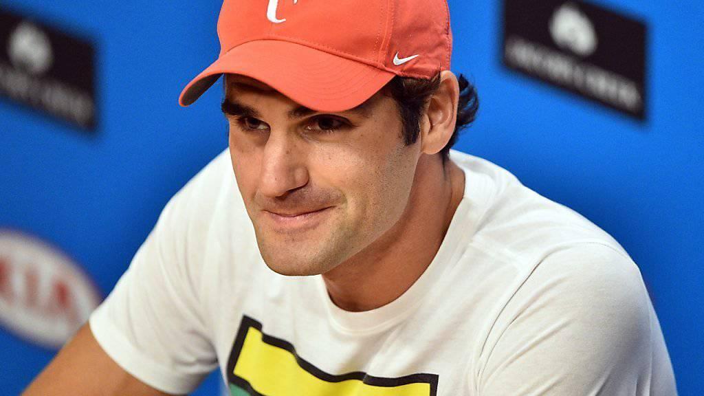 Kehrt in Miami auf die Tennistour zurück: Roger Federer