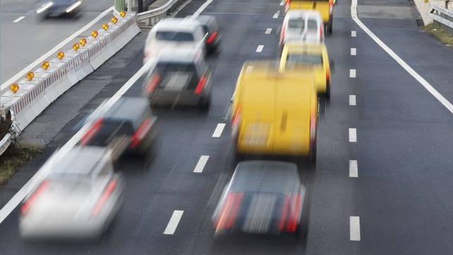 Drängler auf der Autobahn (Symbolbild)