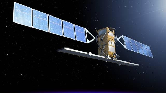 So soll der Sentinel-Satellit dereinst im All aussehen (Archiv)