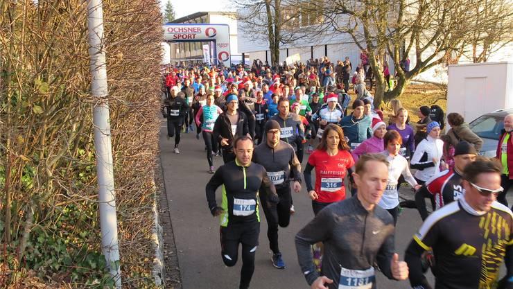 Die Schulanlage Rüsler wird wieder zum Treffpunkt für Läufer. Archiv/Oldani