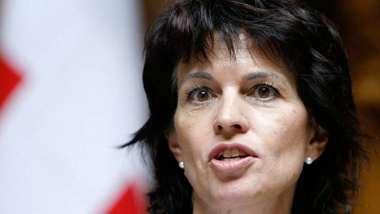 Die Ex-CVP-Präsidentin hat das Französisch im Griff.