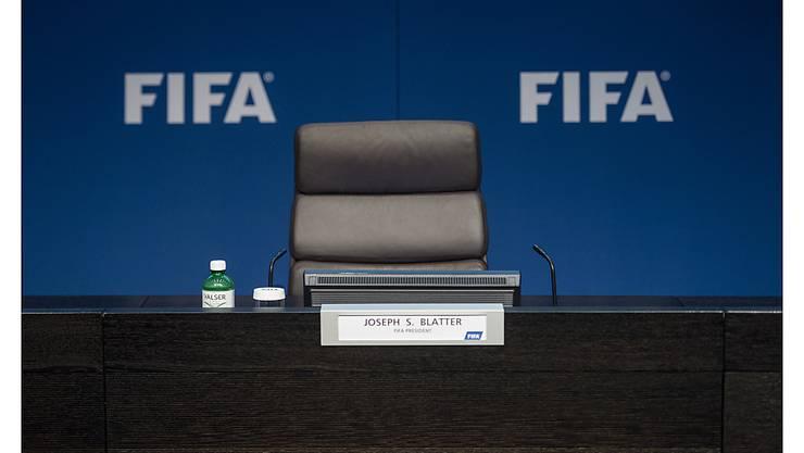 Im Fadenkreuz der Kritik: die FIFA mit Sitz in Zürich