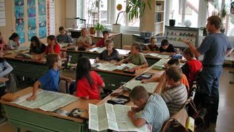 Schulklasse (Symbolbild)