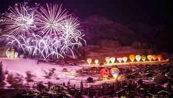 Heissluftballonfestival in Waadt
