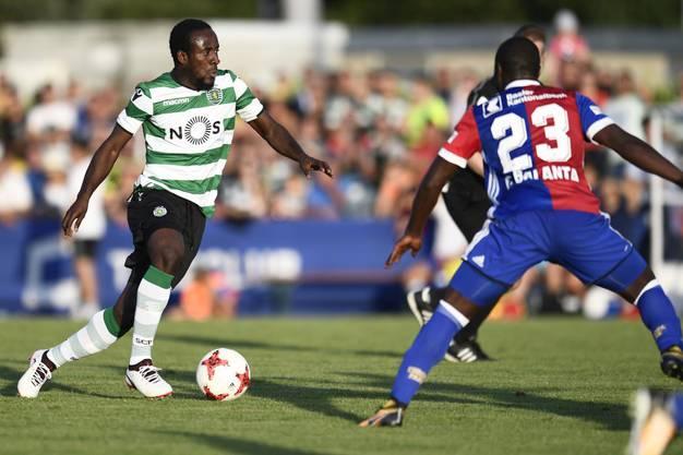 Letztes Jahr noch im FCB-Dress nun für den Gegner im Einsatz: Seydou Doumbia .