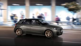 Der neue Audi A1 unterscheidet sich deutlich von seinem Vorgänger: Er setzt auf sportlich scharfe Kanten anstelle von niedlichen Rundungen – sowohl aussen als auch innen. HO