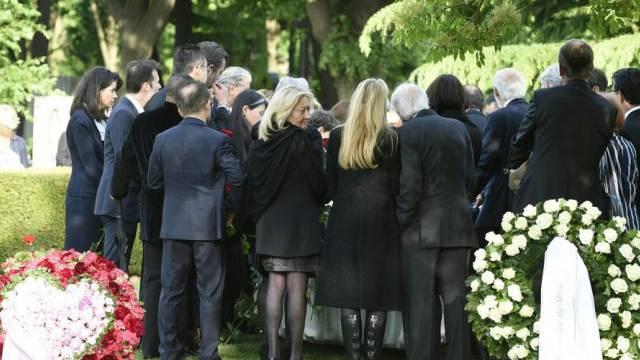 Udo Jürgens Urne wird auf dem Wiener Zentralfriedhof beigesetzt