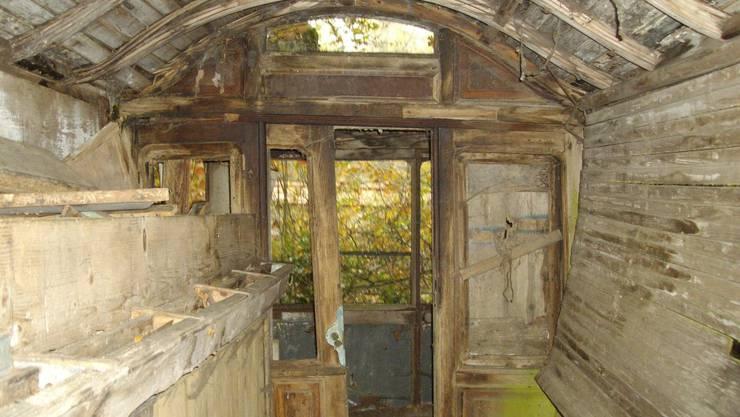 Das bekannte Wrack kommt von Lausanne nach Schlieren ins Wagi-Museum und wird nach und nach wieder aufgearbeitet.