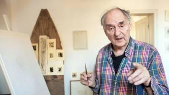 """Harald Naegeli, bekannt als """"Sprayer von Zürich"""", schenkt grosszügigen Vermietern 50 Bilder."""