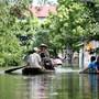 """In Vietnam hat der Taifun """"Bebinca"""" gewütet und in den vergangen Tagen diverse Regionen unter Wasser gesetzt. (Archivbild)"""
