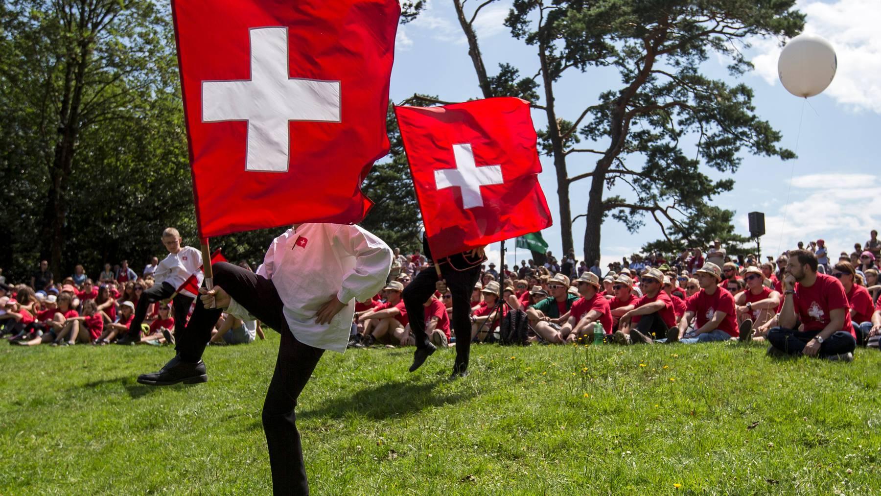 Die Bundesfeier auf dem Rütli wird jeweils von der Schweizerischen Gemeinnützigen Gesellschaft organisiert (Symbolbild).