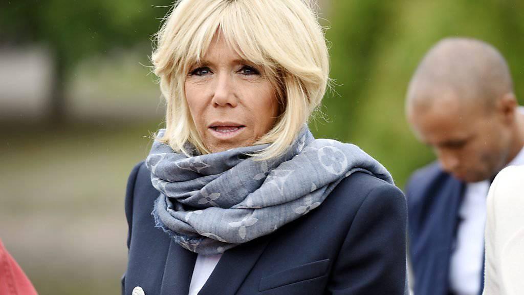 Spielt sich in einer französischen TV-Comedyserie selbst: Première Dame Brigitte Macron.