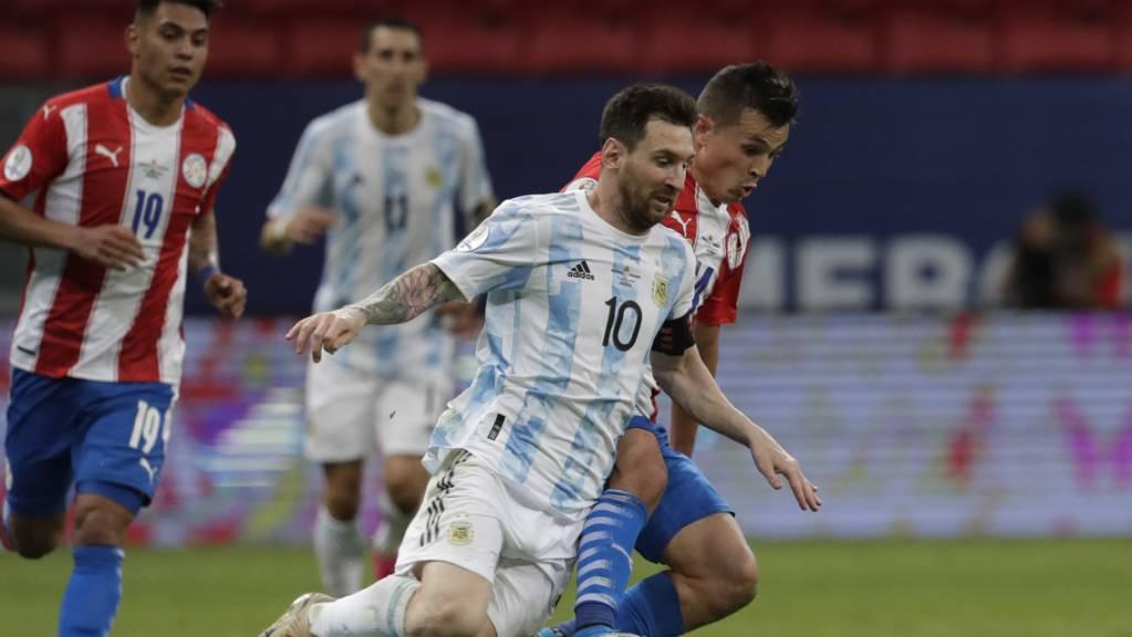 Lionel Messi egalisierte mit seinem 147. Länderspiel für Argentinien den Rekord von Javier Mascherano