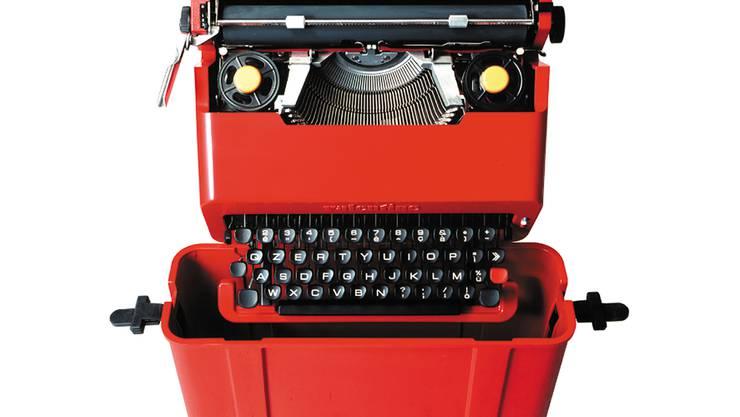 Sein erster Klassiker: 1969 schuf Sottsass die Reiseschreibmaschine «Valentine» für die Firma Olivetti.