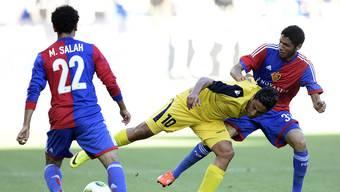 Die beiden Ägypter Mohamed Salah und Mohamed Elneny.