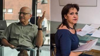 Urs Hintermann und Farideh Eghbali