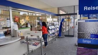 Reduziert: Der Bahnhofschalter Killwangen-Spreitenbach verkürzt seine Öffnungszeiten. (Walter Schwager)