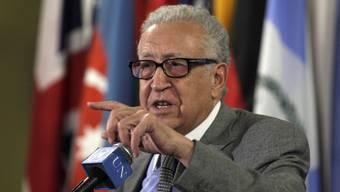 Der UNO-Sonderbeauftragte für Syrien, Lakhdar Brahimi (Archiv)