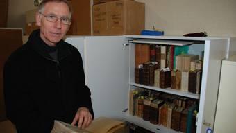 Urs Pilgrim, Präsident der Kulturstiftung St. Martin, muss für den Aufbau der Klosterbibliothek andere Geldgeber finden. (fh)