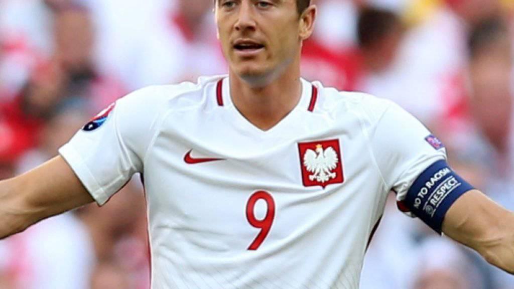 Um Robert Lewandowski dreht sich bei den Polen alles