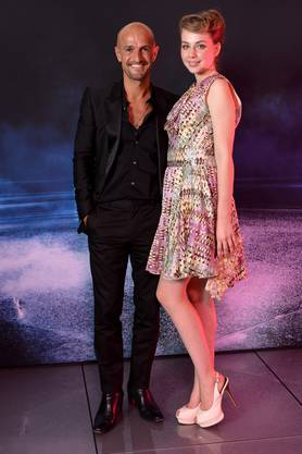 Peyman Amin und Nicole Pezzullo.