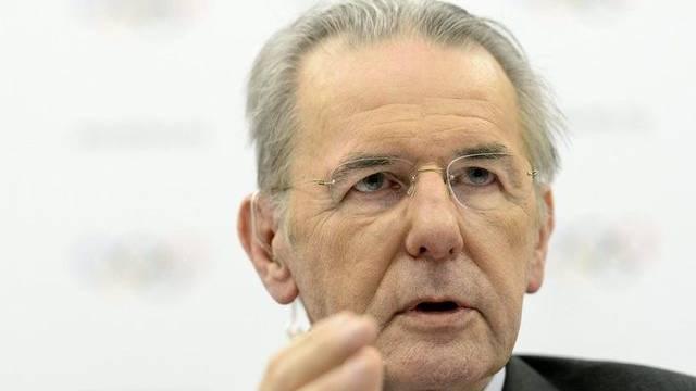 IOC-Präsident Jacques Rogge schätzt die Olympia-Chancen der Schweiz als gut ein (Archiv)