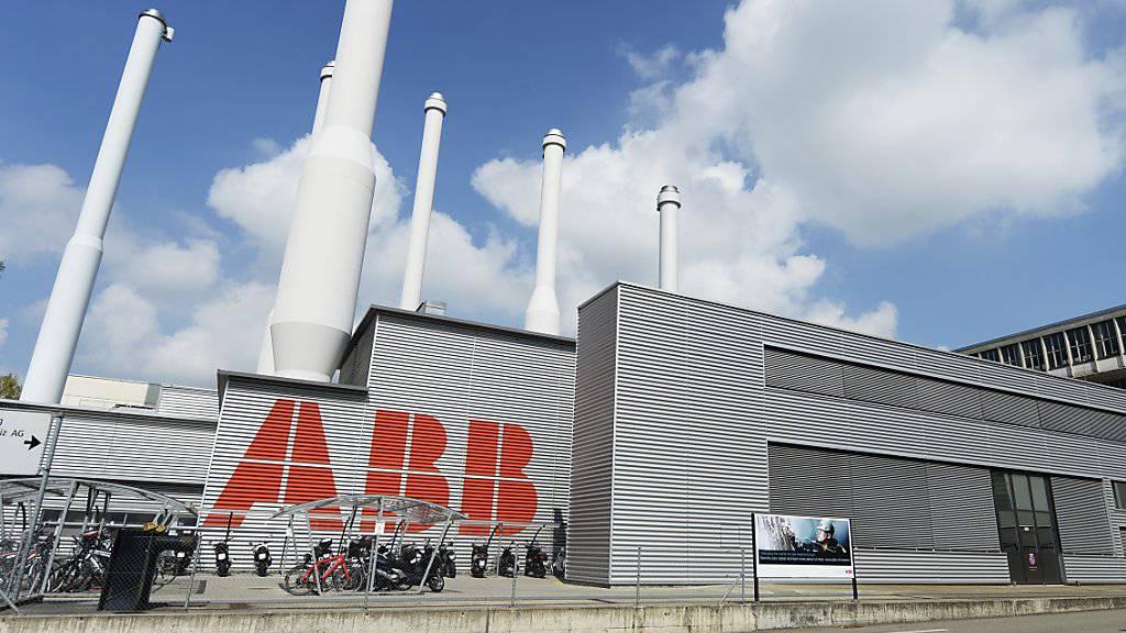 ABB erzielt im zweiten Quartal 2019 tieferen Gewinn