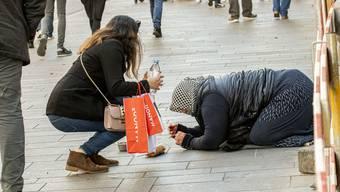 Schon seit einigen Monaten ist die Bettlerproblematik ein Thema in Basel.