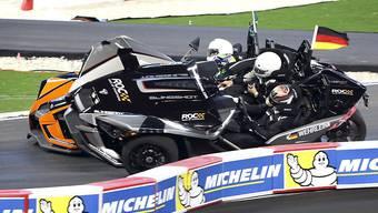 Unfall beim Race of Champions Ende Januar: Saubers neuer Fahrer Pascal Wehrlein