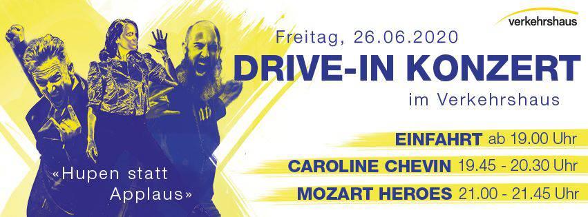 Steig in dein Auto und komm zum Drive-In Konzert am 26. Juni 2020