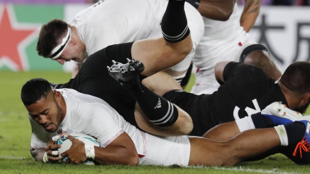 England entzaubert die «Rugby-Götter»
