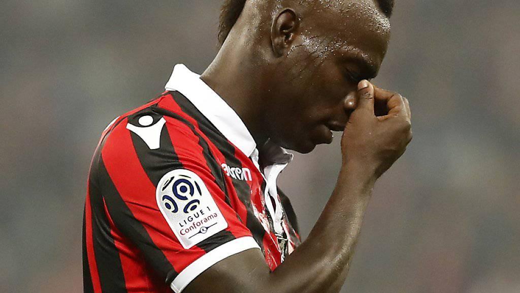 Mario Balotelli sucht nach einem enttäuschenden halben Jahr in Nizza eine neue Herausforderung in Marseille