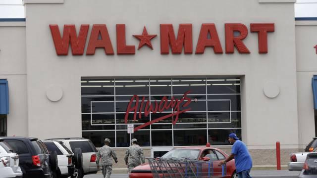 Eine Wal-Mart-Filiale in Bristol im US-Bundesstaat Pennsylvania