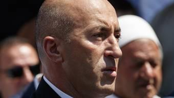 Der zurückgetretene kosovarische Ministerpräsident Ramush Haradinaj (Archiv)