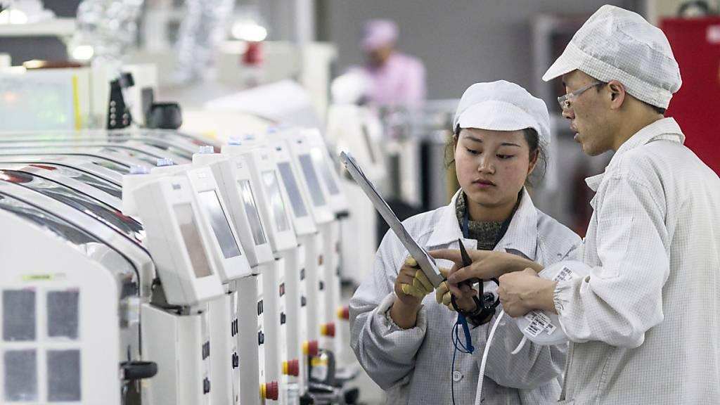 Chinas Industrie steigert Gewinne 2020 trotz Pandemie