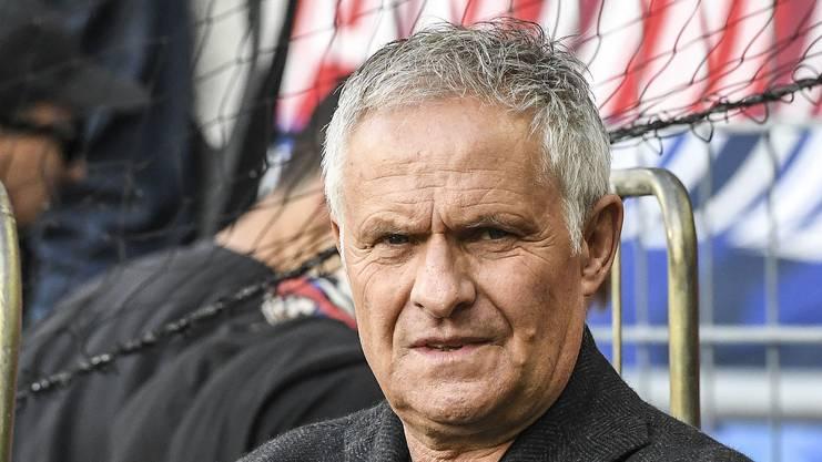 Sportchef Ruedi Zbinden.
