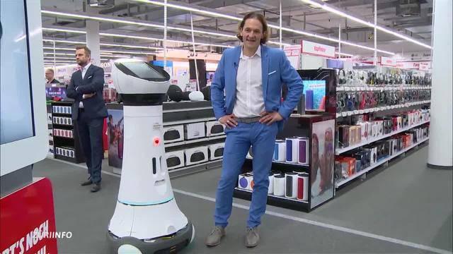 Roboter ersetzt Mitarbeiter in Elektrofachgeschäft / Autofahren mit 17?
