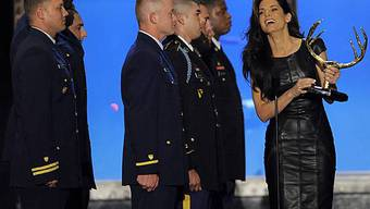 Sandra Bullock freut sich über den Filmpreis