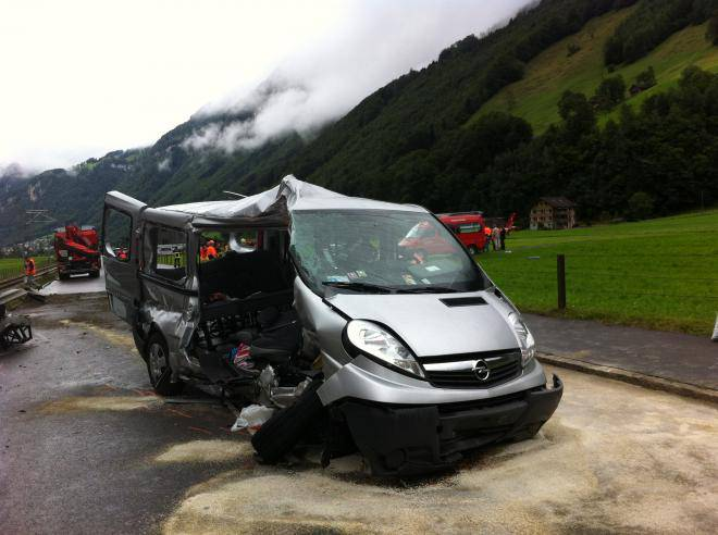 11.08.2014: Dieser Unfall in Wolfenschiessen NW sorgte für ein grosses mediales Echo.