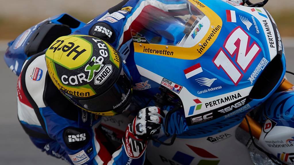 Nach einem starken Qualifying darf Tom Lüthi am Sonntag im Grand Prix von Österreich auf deutlichen Punktezuwachs hoffen