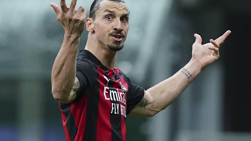 Zlatan Ibrahimovic schafft es nach einer Knieverletzung nicht rechtzeitig auf die EM zurück