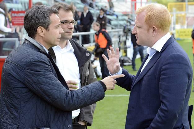 Inzwischen ist Heusler auch auf dem Papier FCB-Präsident. Im Oktober 2012 folgt eine seiner schwierigsten Entscheidungen überhaupt während seiner Ära – die Entlassung von Heiko Vogel. Einem Trainer, der dem ganzen Verein auch menschlich ans Herz gewachsen ist.
