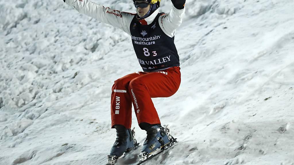 Schweizer Skiakrobaten in Jaroslawl auf dem Podest