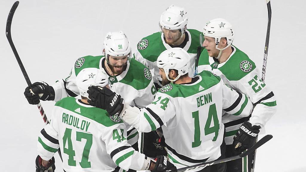 Die Dallas Stars freuen sich über den Einzug in den Stanley-Cup-Final.