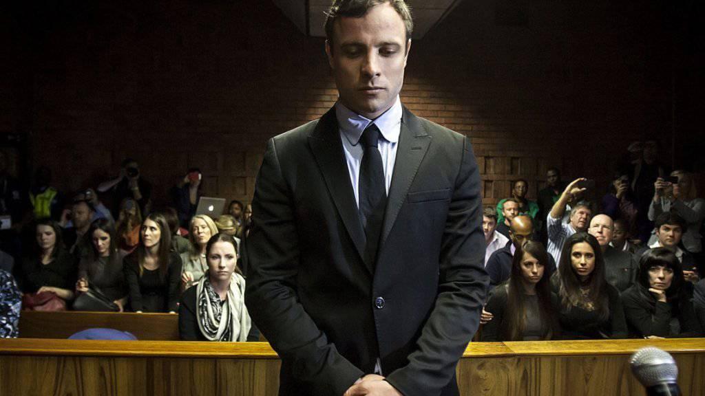 Das Strafmass für das Totschlag-Urteil gegen Pistorius soll nun im April verkündet werden (Archiv)