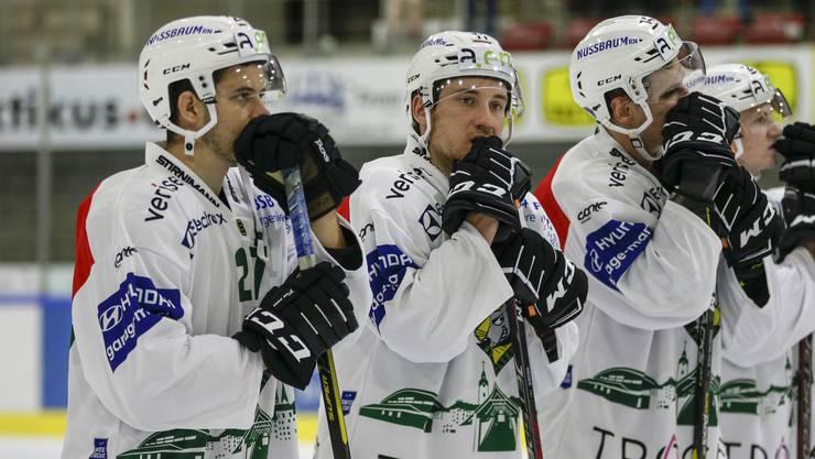Der EHC Olten verliert das erste Meisterschaftsspiel der Saison gegen Winterthur.