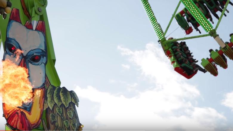 Die XXL-Schaukel «Konga» ist eine der Neuheiten der diesjährigen Herbstmesse.