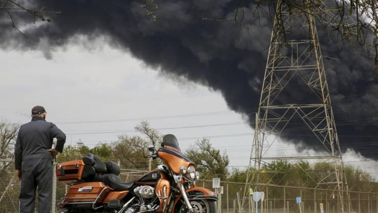 Harley-Davidson ächzt weiter unter dem von der US-Regierung angezettelten Handelsstreit mit China und der EU, der zu hohen Einfuhrzöllen auf die Produkte des Herstellers geführt hat. (Archiv)