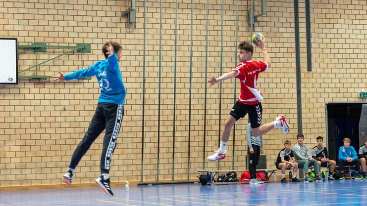 Mit seinem erneuten Erfolg sichert sich der Nachwuchs der HSG Aargau Ost den dritten Sieg in Folge.