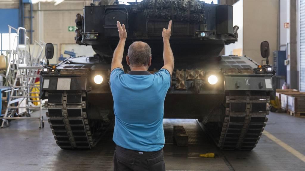 Ständerat gibt grünes Licht für höhere Militärausgaben
